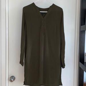 BANANA REPUBLIC ARMY GREEN DRESS